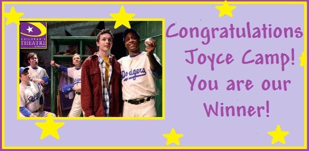 Congratulations Joyce Camp!