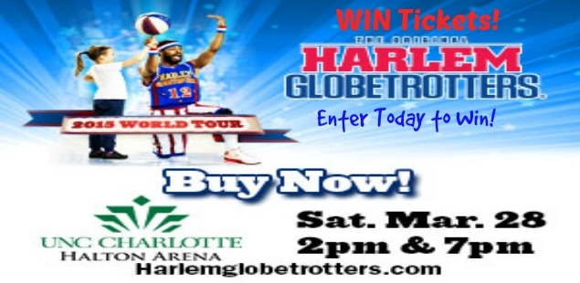 Win Tickets to the Globetrotters!