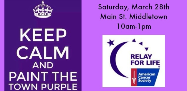 Save the Date 5/30 & 5/31 for Relay for Life