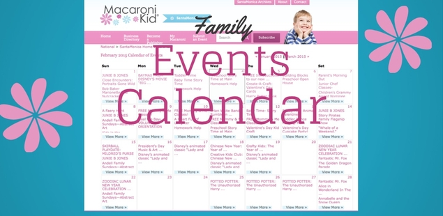 The best events for families this month