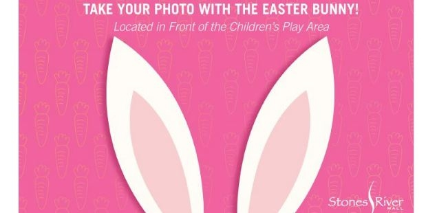 Take a photo with the Easter Bunny