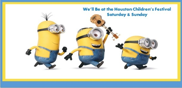 Minions are at the McDonald's Children's Festival This Weekend