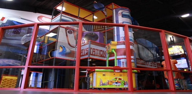 Come see our 5-Level Spaceship Playstation