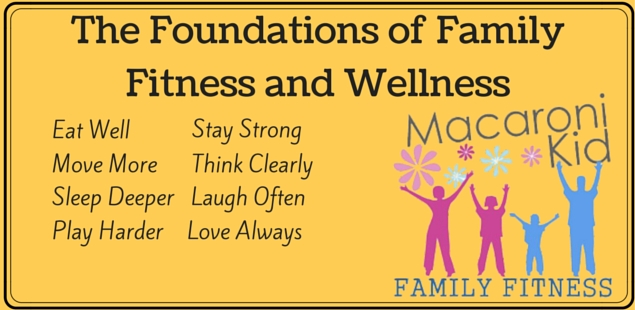 The Foundations of Family Fitness and Wellness