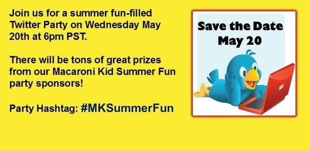 #MKSummerFun Twitter Party on May 20