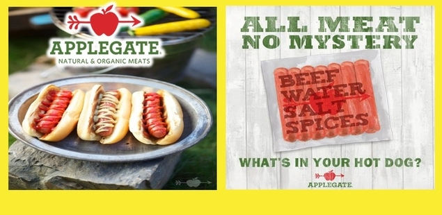 APPLEGATE Natural and Organic Meat Hot Dogs