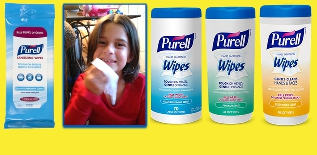 Introducing New PURELL Hand Sanitizing Wipes