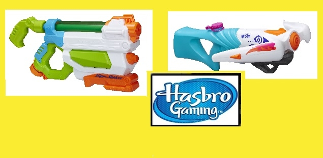 Get Wet This Summer with Hasbro Water Blasters