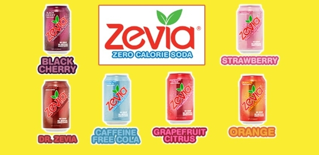 Cool off with Zevia Naturally Flavored Soda