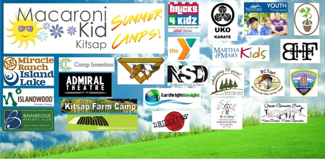 2015 Featured Summer Camps in Kitsap