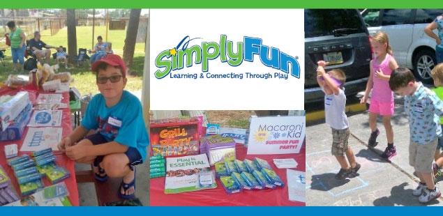 "SimplyFun: ""Smarter Kids & Stronger Families through Play"""