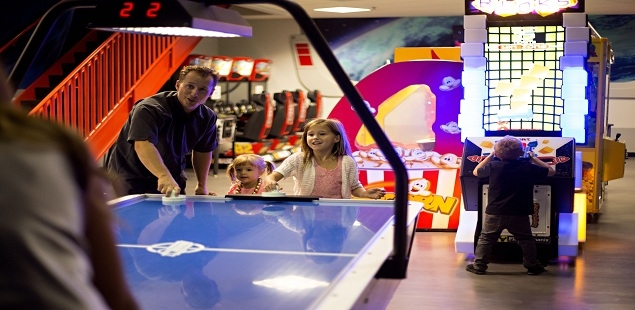 Our 2-story arcade offers lots of family fun