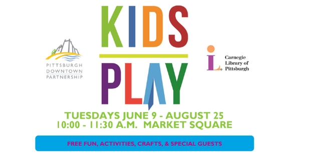 KIDSPLAY - Don't Miss Tuesdays At Market Sq