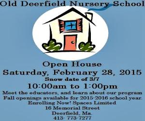 Old Deerfield Nursery Open House