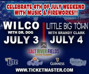 4th of July at Salt River Fields