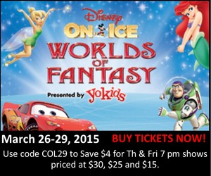 Disney on Ice March 2015