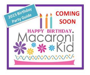 Birthday Party Guide 2015