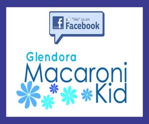 Blue Facebook ad