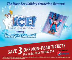 ICE! presents Frosty the Snowman