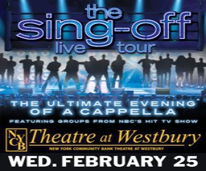 THE SING OFF LIVE TOUR