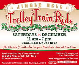 Craggy Mtn Line Jingle Bell