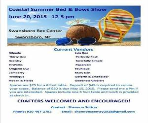 Coastal Summer Bed & Bows Show