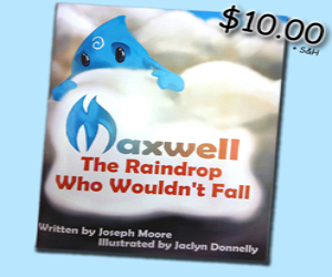 Maxwell the Raindrop