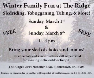 The Ridge Sledding
