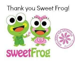 Sweet Frog Thanks