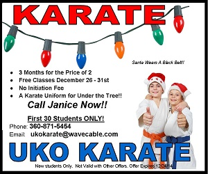 UKO Karate Holiday Offer