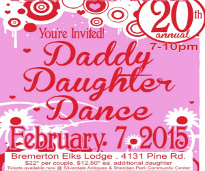 City of Bremerton Daddy Daughter Dance 2015