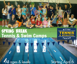 Kitsap Tennis & Athletic Center Spring Break Camps