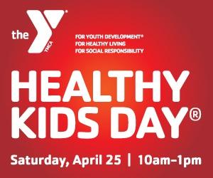 YMCA Healthy Kids Day 2015