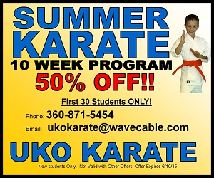 UKO Karate Summer Program