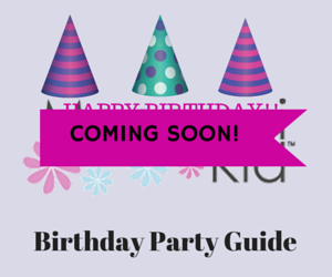 Birthday Party Guide Coming Soon