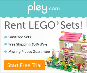 Rent LEGO sets