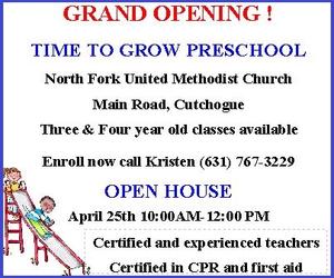 Time To Grow Preschool