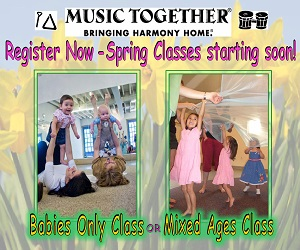 Music Together offered by Lyrical Children Inc.