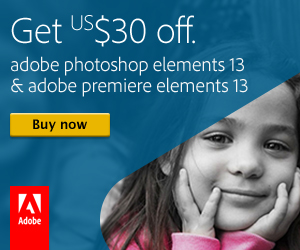 Adobe Photoshop Elements $30 off