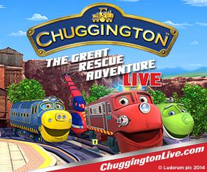 Chuggington Live FAYETTEVILLE