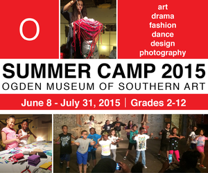 Ogden MUSEUM OF SOUTHERN ART SUMMER CAMPS