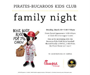 Chick fil A Bucaroo Night