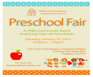 MomS Club Preschool Fair