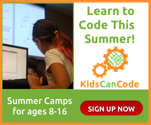 Kids Can Code Summer Special