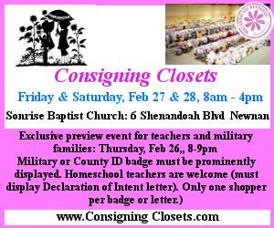 Consigning Closets