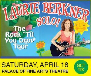 Laurie Berkner at Palace of Fine Arts