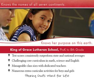 King of Grace Lutheran School
