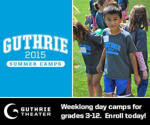 Guthrie Theatre Camp 2015