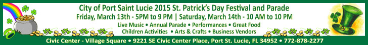City of PSL St. Patrick's Day 2015
