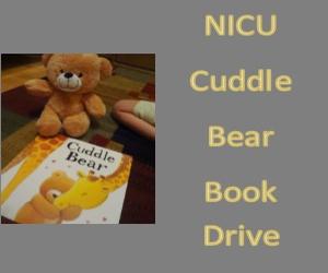Cuddle Bear Book Drive